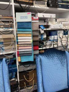 furniture fabrics selection