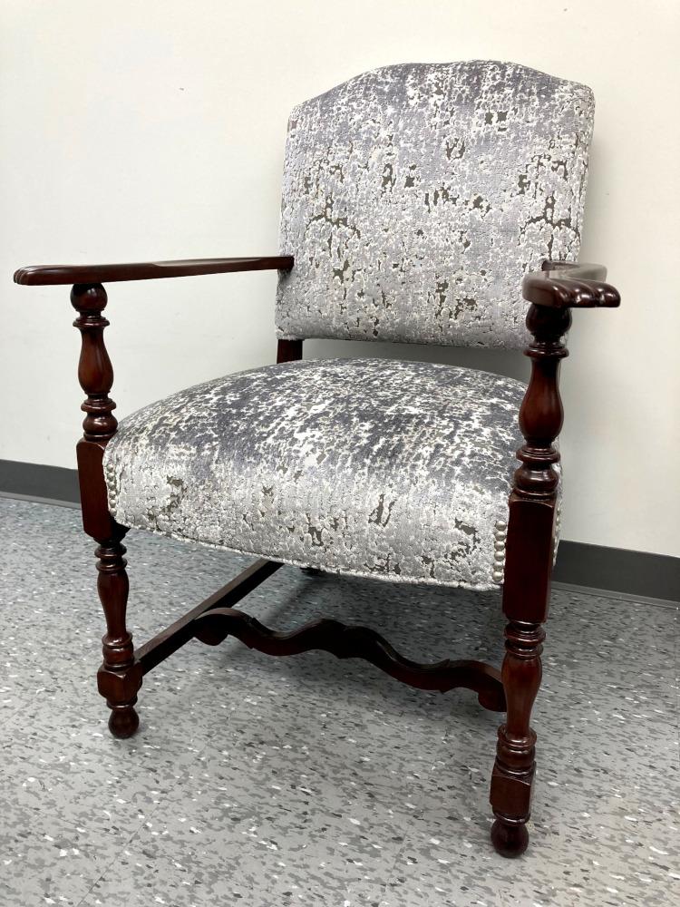 armchair reupholstery