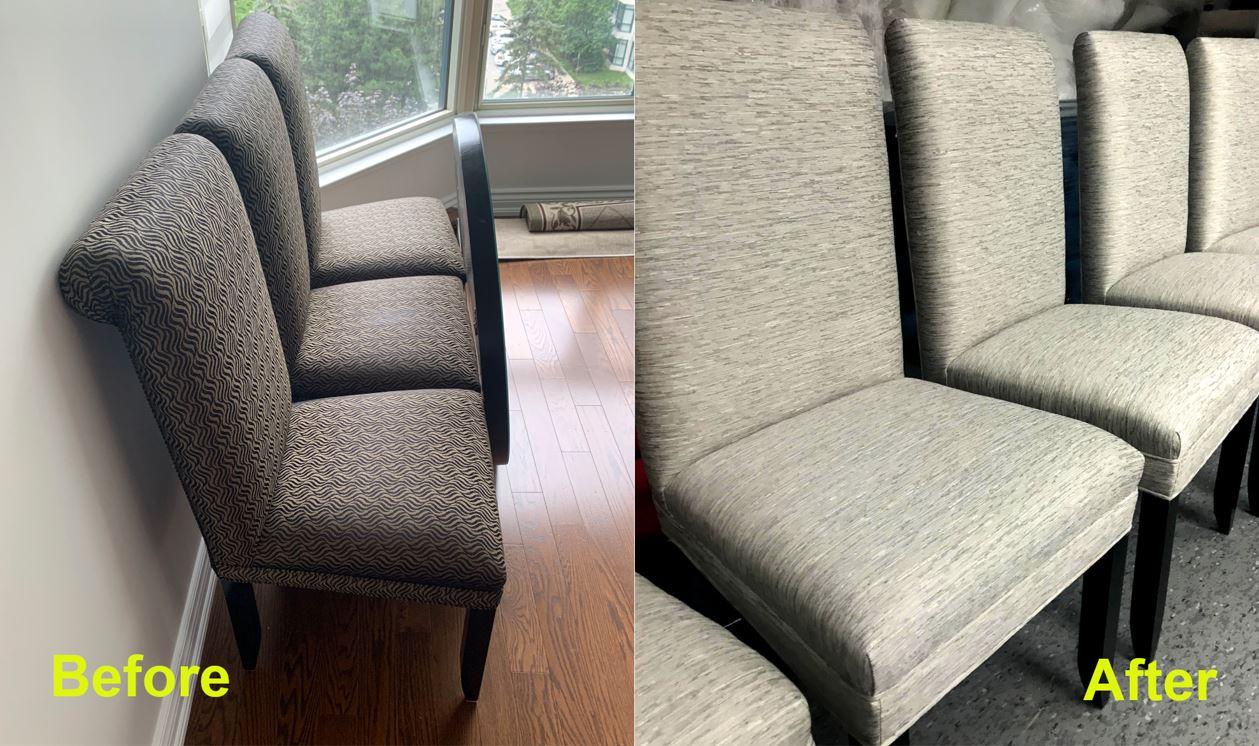 Custom Chairs Refurbishing